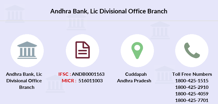 Andhra-bank Lic-divisional-office branch