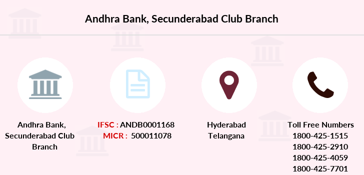 Andhra-bank Secunderabad-club branch