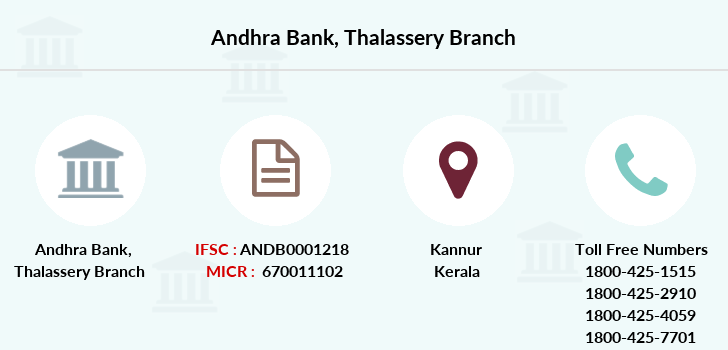 Andhra-bank Thalassery branch