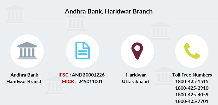 Andhra-bank Haridwar branch