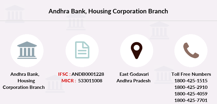 Andhra-bank Housing-corporation branch