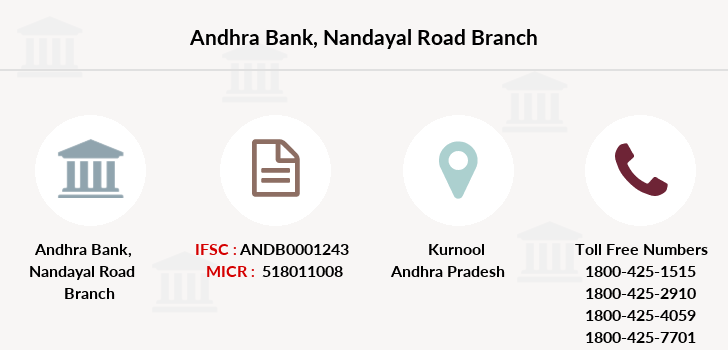 Andhra-bank Nandayal-road branch