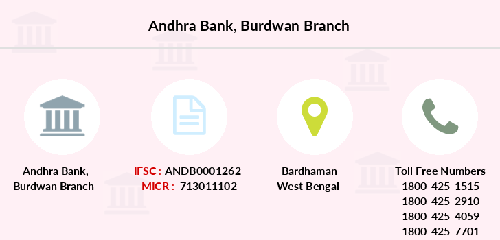 Andhra-bank Burdwan branch