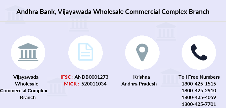 Andhra-bank Vijayawada-wholesale-commercial-complex branch