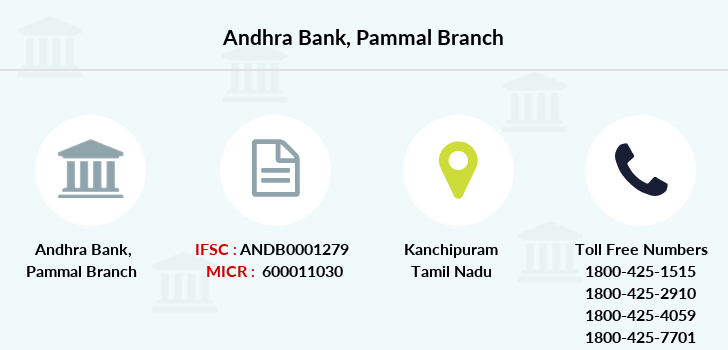 Andhra-bank Pammal branch