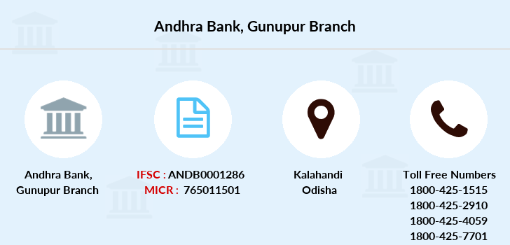 Andhra-bank Gunupur branch