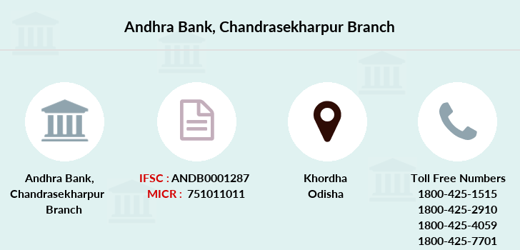 Andhra-bank Chandrasekharpur branch