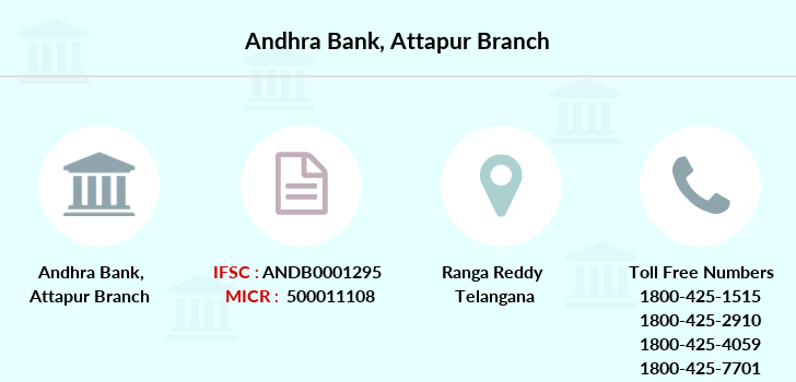 Andhra-bank Attapur branch