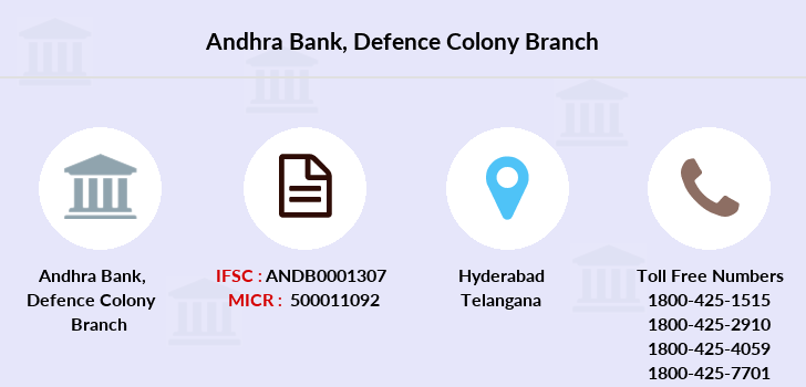 Andhra-bank Defence-colony branch