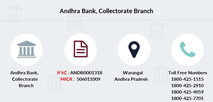 Andhra-bank Collectorate branch