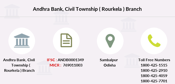 Andhra-bank Civil-township-rourkela branch