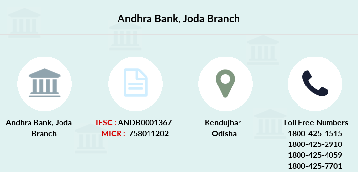 Andhra-bank Joda branch