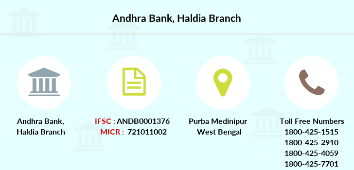 Andhra-bank Haldia branch
