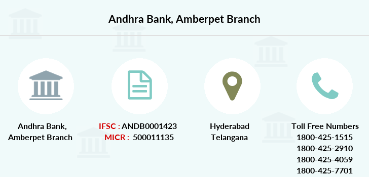 Andhra-bank Amberpet branch