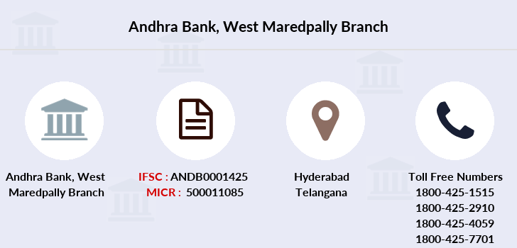 Andhra-bank West-maredpally branch