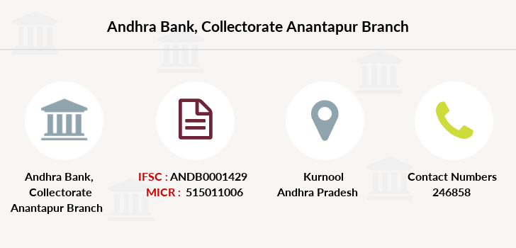 Andhra-bank Collectorate-anantapur branch