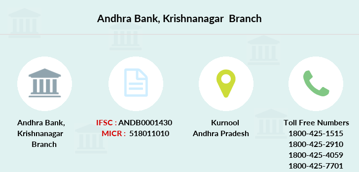 Andhra-bank Krishnanagar branch
