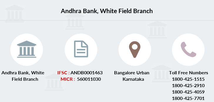 Andhra-bank White-field branch