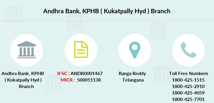Andhra-bank Kphb-kukatpally-hyd branch