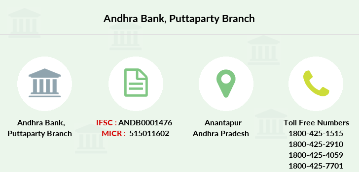 Andhra-bank Puttaparty branch