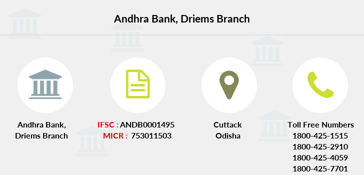 Andhra-bank Driems branch