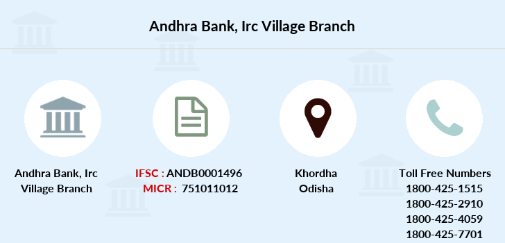 Andhra-bank Irc-village branch