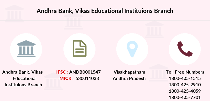 Andhra-bank Vikas-educational-instituions branch