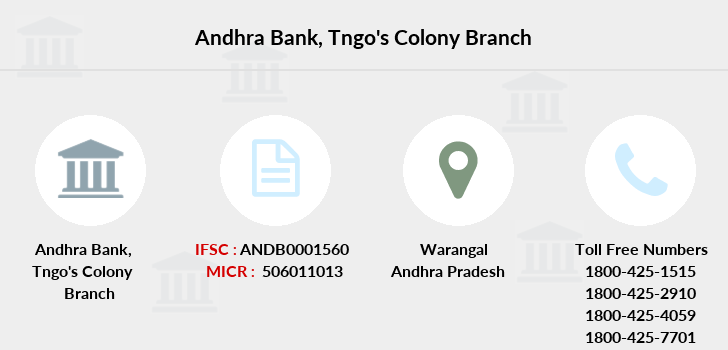 Andhra-bank Tngo-s-colony branch