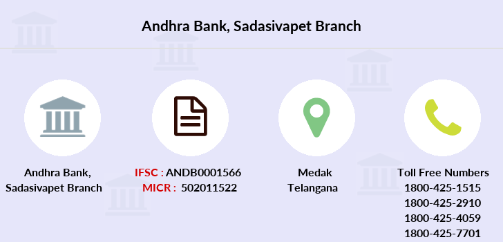 Andhra-bank Sadasivapet branch