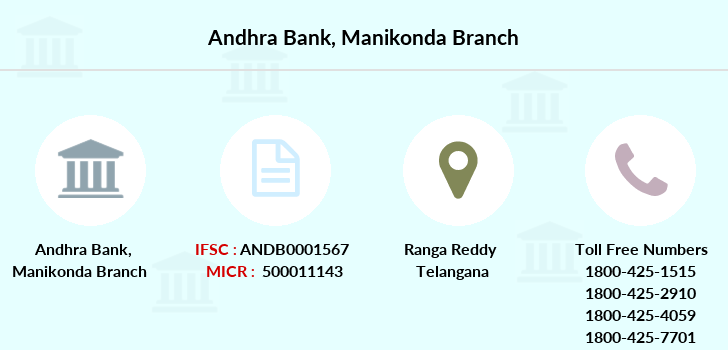 Andhra-bank Manikonda branch