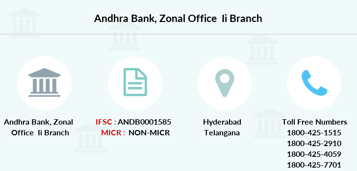 Andhra-bank Zonal-office-ii branch