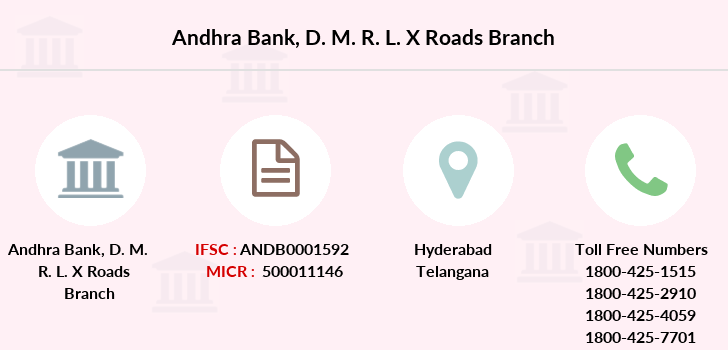 Andhra-bank D-m-r-l-x-roads branch