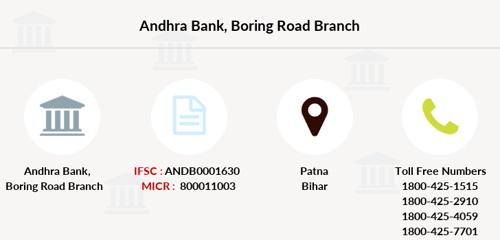 Andhra-bank Boring-road branch