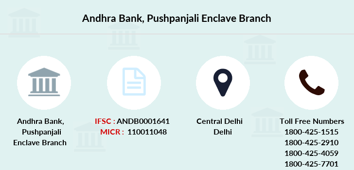 Andhra-bank Pushpanjali-enclave branch