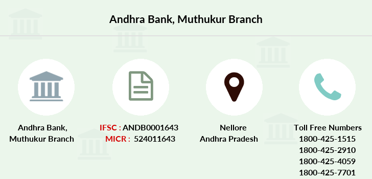 Andhra-bank Muthukur branch
