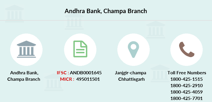 Andhra-bank Champa branch