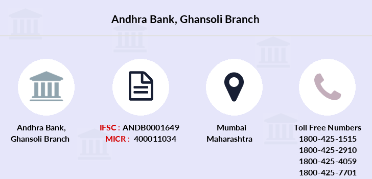 Andhra-bank Ghansoli branch