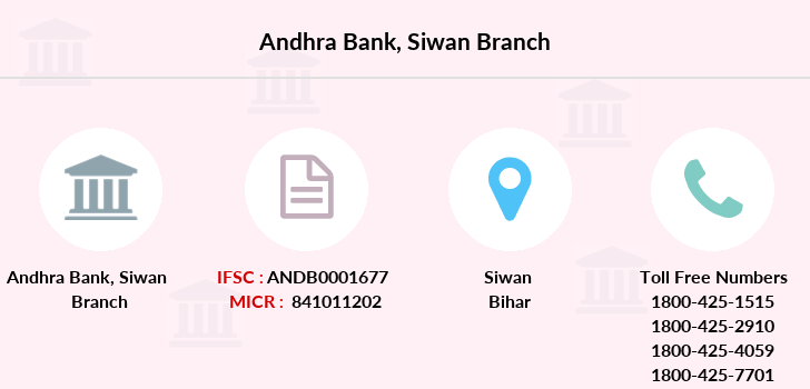 Andhra-bank Siwan branch