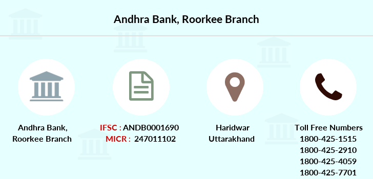 Andhra-bank Roorkee branch