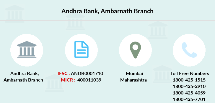 Andhra-bank Ambarnath branch