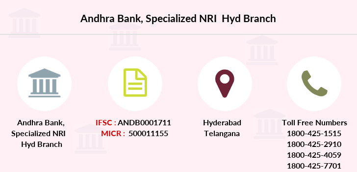 Andhra-bank Specialized-nri-hyd branch