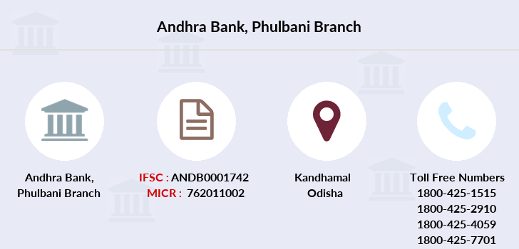 Andhra-bank Phulbani branch
