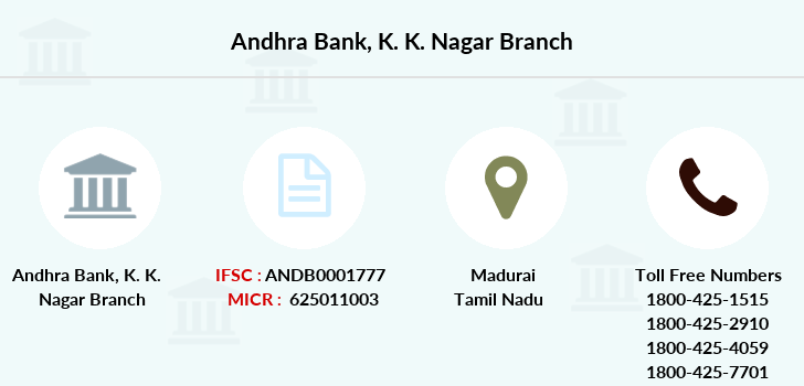 Andhra-bank K-k-nagar branch