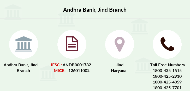 Andhra-bank Jind branch