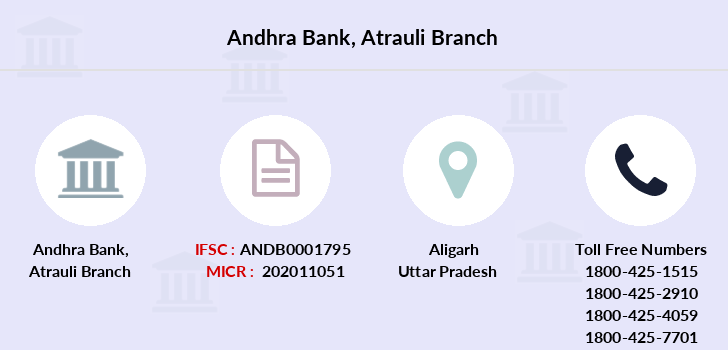 Andhra-bank Atrauli branch