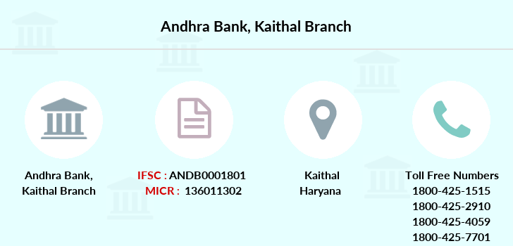 Andhra-bank Kaithal branch