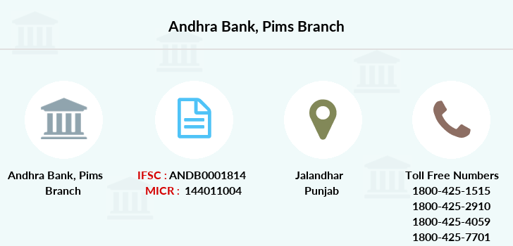 Andhra-bank Pims branch