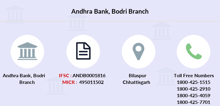 Andhra-bank Bodri branch