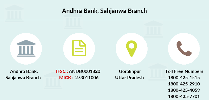 Andhra-bank Sahjanwa branch