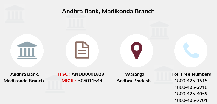 Andhra-bank Madikonda branch